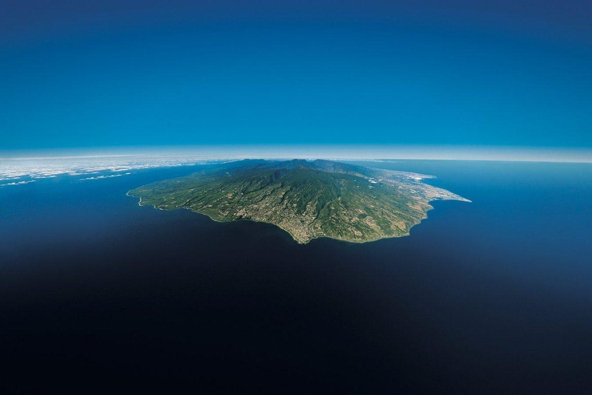 La Réunion Vue Du Ciel Carte De La Réunion