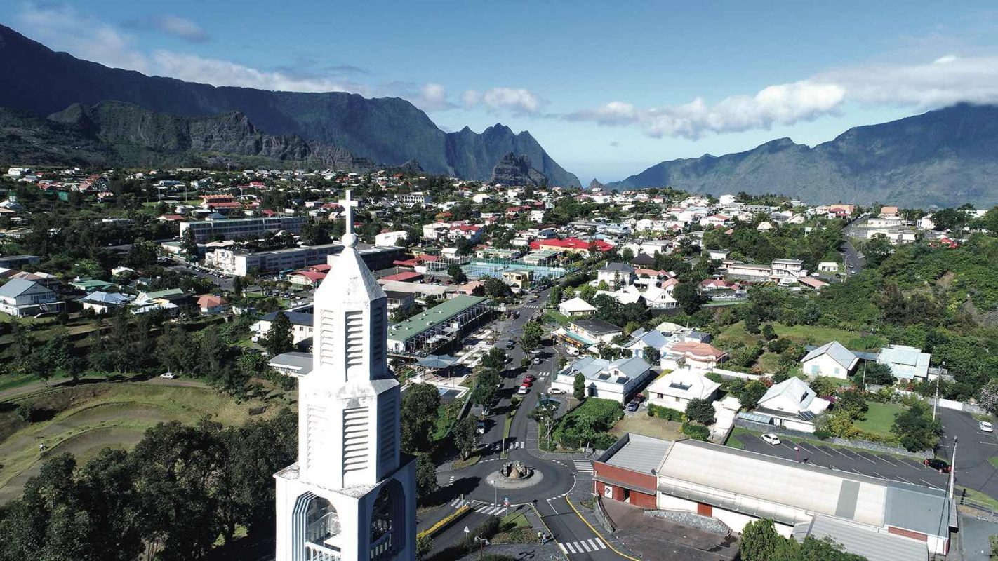 villages de la reunion