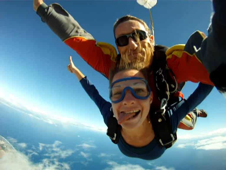 saut en parachute la reunion