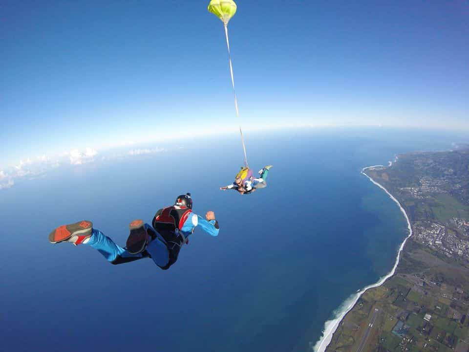 parachutisme reunion